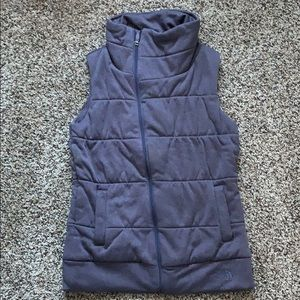 The North Face quilted vest
